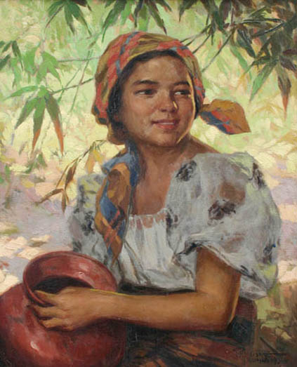 Fernando Amorsolo Biography and Paintings